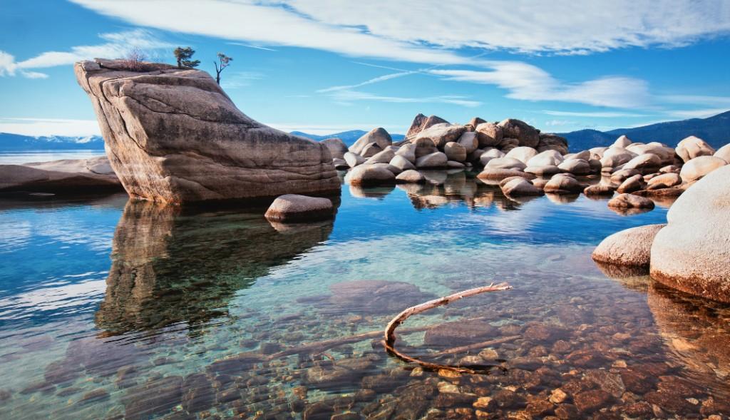 Lake Tahoe-Bonzai Rock